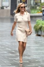 Amanda Holden Leaving Global Radio Studios in London