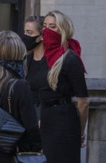 Amber Heard Arriving at court in London
