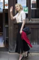 Amber Heard Arriving to the Royal Courts of Justice in London