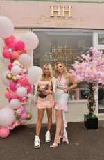 Amber Turner Attending the opening of Hair by Holly salon in Buckhurst Hill