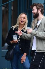 Amelia Windsor Looking in great spirits as she enjoys drinks with her cousin in West London