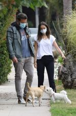Ana De Armas Out walking her dog in Venice
