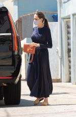 Angelina Jolie Out with her son Knox on Wacko and Blue Rooster art supplies in Los Angeles