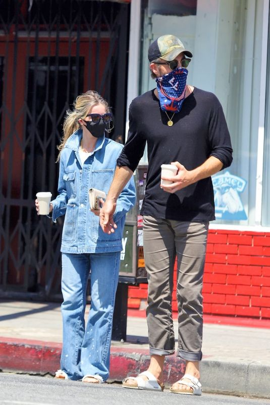 Annabelle Wallis Out in Los Angeles