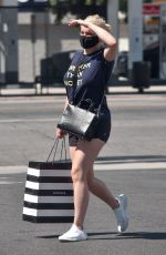 Ariel Winter Stops by Sephora wearing a tee reading: Sweeter than Honey