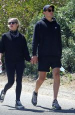 Ashley Benson & G Easy Holding hands while out for hike in Los Angeles
