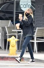 Ashley Benson Out getting coffee in Los Angeles