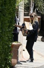 Ashley Benson Outside her place in Los Angeles