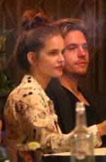 Barbara Palvin & Dylan Sprouse Enjoy dinner with friends in Los Feliz