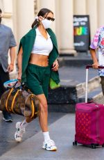 Bella Hadid Going to a tennis match in NYC
