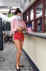 Blanca Blanco Goes sight-seeing while out for coffee in Los Angeles