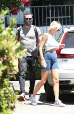 Brian Austin Green & model Tina Louise Seen out together after a romantic lunch date at Sage in Agoura Hills