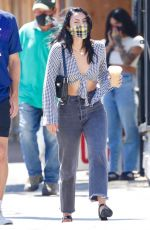 Camila Mendes Getting coffee in Los Angeles