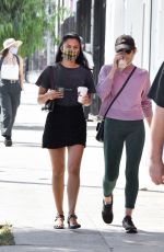 Camila Mendes Has a fender bender during coffee run in LA