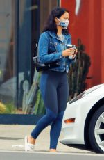 Camila Mendes Out getting coffee in Los Angeles