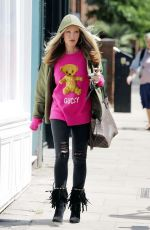 Caprice Bourret Out Shopping in London