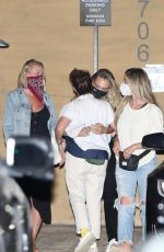 Cara Delevingne Seen leaving Nobu after enjoying dinner with friends in Malibu