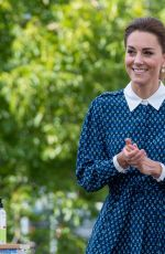 Catherine Duchess of Cambridge Visits the Queen Elizabeth Hospital as part of the NHS birthday celebrations in King