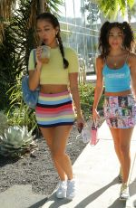 Chantel Jeffries Shows off her chic physique as she is spotted having lunch in West Hollywood