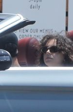 Charli XCX Picking up some lunch with her boyfriend Huck Kwong in Los Feliz