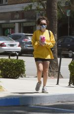 Charli XCX Spotted exiting a gym in Los Angeles
