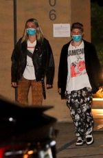 Charlotte Lawrence And Andrew Watt Step Out For Dinner Post COVID Recovery