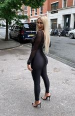 Chloe Ferry Heading out for a night on the town in London