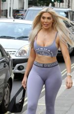 Chloe Ferry Showing off her midriff as she