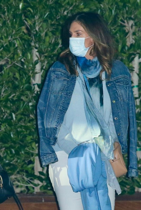 Cindy Crawford At SoHo House in LA