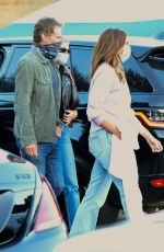 Cindy Crawford & Kaia Gerber Meet up for a family dinner at Nobu in Malibu