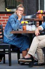 Claire Danes Out in New York with her husband