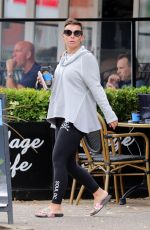 Coleen Rooney Grabs a morning coffee out in Cheshire