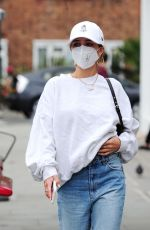 Delilah Belle Hamlin Makes a visit to Young LDN - a bespoke Skin & beauty medical spa in Notting Hill
