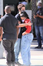 Demi Lovato Seen out shopping on Rodeo Drive in Beverly Hills
