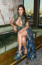 Demi Rose At the HLD summer brunch at Jin Bo Law in London