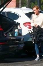 Diane Kruger Enjoys her afternoon with her baby at a park in Los Angeles