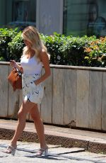 Diletta Leotta Out and about, Milan, Italy