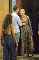 Donna Air Looks totally in love in London