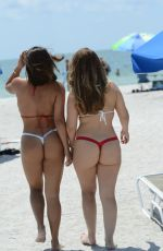 Donna Bella & Carmen Valentina at the beach in Clearwater, Florida