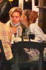 Dylan Sprouse and Barbara Palvin Enjoys a night on the town with KJ Apa, and Stella Maxwell in Silverlake