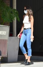 Eiza González Leaving a medical center in Beverly Hills