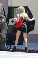Emma Roberts Checks out a newsstand in Los Feliz