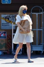 Emma Roberts Grocery shopping in LA