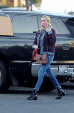 Emma Roberts Stepping out in Los Angeles