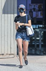 Emmy Rossum Displays her legs while shopping for new appliances at Snyder Diamond in Santa Monica