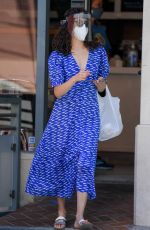 Emmy Rossum Shopping in Beverly Hills