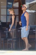 Erin Moriarty At lunch in Beverly Hills