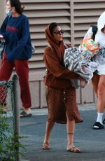 Halsey Enjoys time with friends on a yacht in Marina del Rey