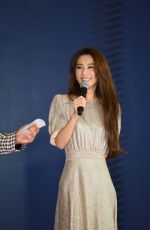 Hebe Tien Attends a press conference for the coming live concert tour promotion, Taipei, Taiwan