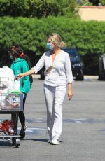 Helene Boshoven Samuel heads to the market in Los Angeles
